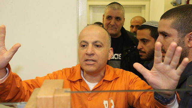 התפרץ על התביעה והשופטים. משה מלול (צילום: מוטי קמחי) (צילום: מוטי קמחי)