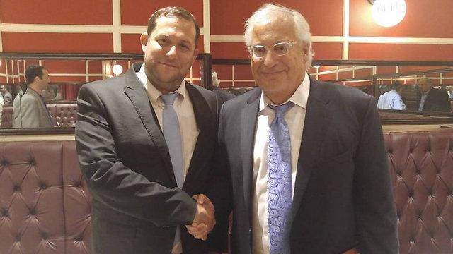 David Friedman and Samaria Regional Council head Yossi Dagan (Photo: Trump Campaign in Israel) (Photo: Trump Campaign in Israel)