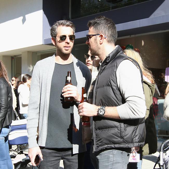 מני פדי ובירה, זה הגבר החדש. ואדים צ'יבוטר ודור קרובינר (צילום: ענת מוסברג)