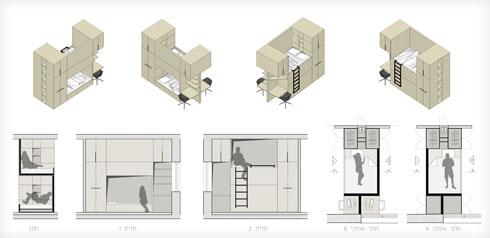 תוכנית הרהיט הרב שימושי (תוכנית: סטודיו XS architecture)