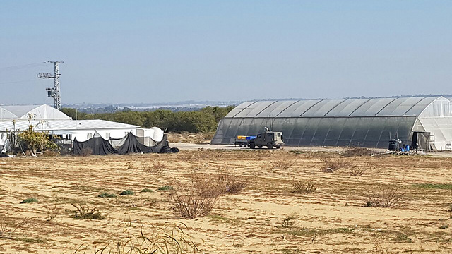 IDF searching for remnants Monday morning near the border