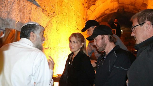 Visiting the Western Wall Tunnel