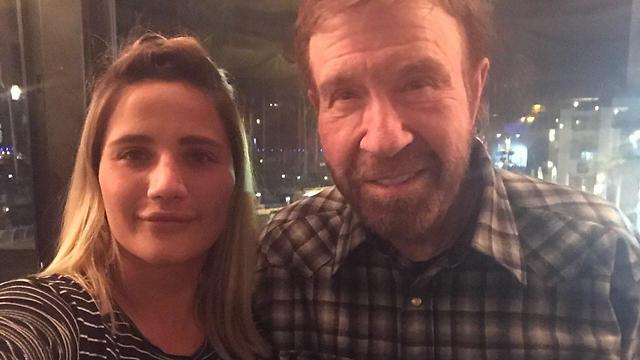 Norris with just one fan