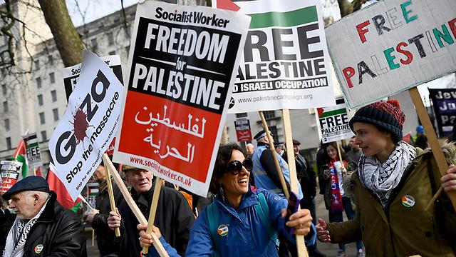 Pro-Palestinian protest (Photo: Reuters)