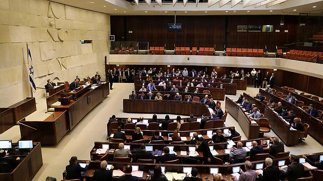 מליאת הכנסת (צילום: רויטרס)