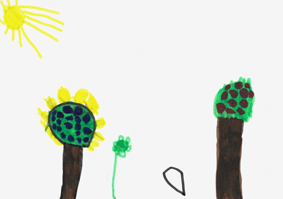 עץ פרי יכול גם להעיד על ילד שמבחינה רגשית מעדיף לרצות את הסביבה