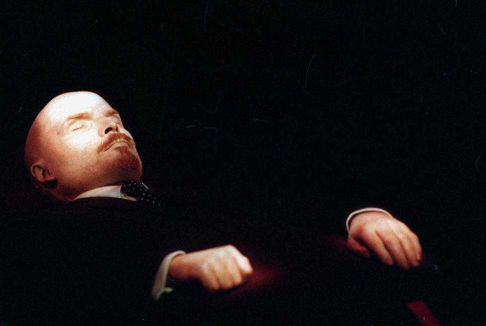 גופתו החנוטה של לנין (צילום: gettyimages) (צילום: gettyimages)