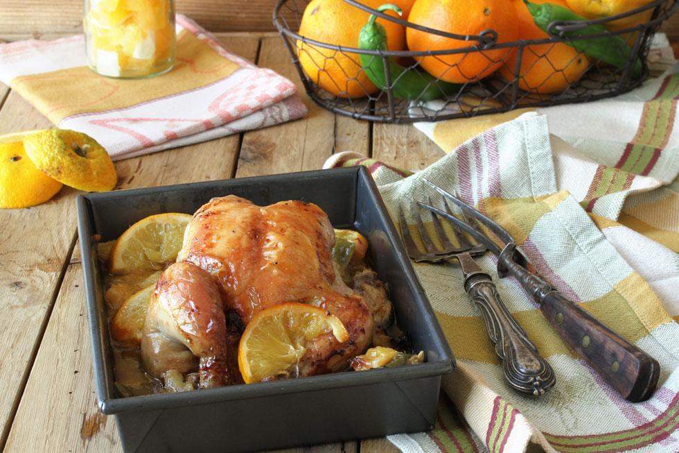 עוף בתפוזים ופלפל חריף (צילום, סגנון והכנה: אסנת לסטר)
