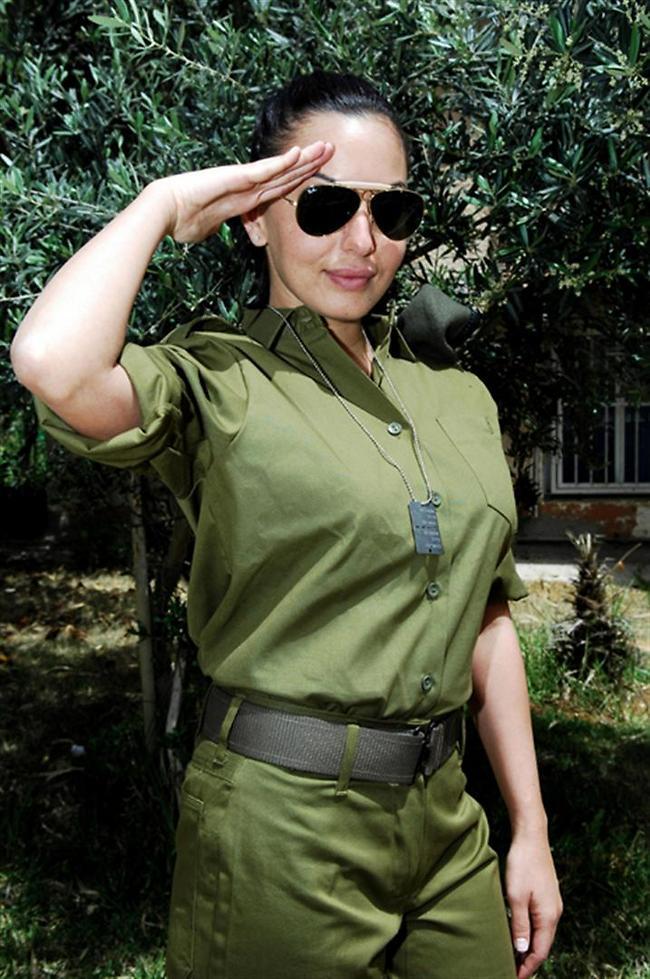 """כן המפקדת. מאיה בוסקילה (צילום: דובר צה""""ל)"""