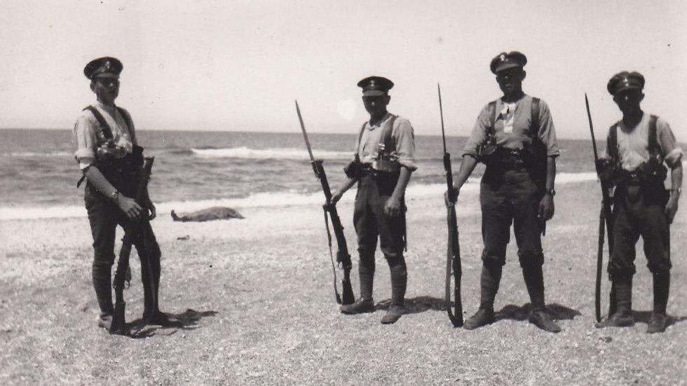הגדוד הראשון ליהודה - לוריא נשאר בישראל במסגרת זו (באדיבות מוזיאון בית הגדודים, משרד הביטחון)