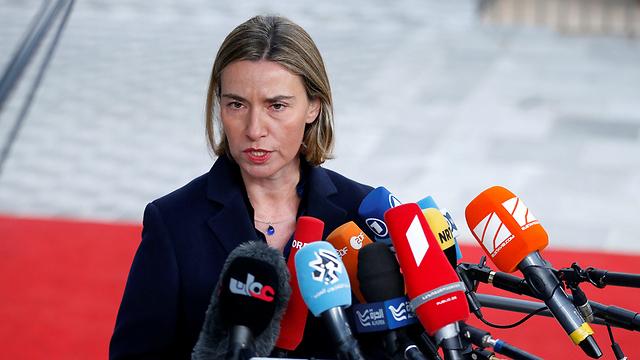 שרת החוץ של האיחוד האירופי מוגריני (צילום: רויטרס) (צילום: רויטרס)