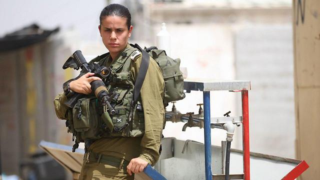 Maj. Dana Ben-Ezra (Photo: Gadi Kabalo)