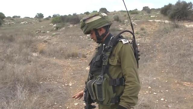 IDF tracker (Photo: Roee Idan)
