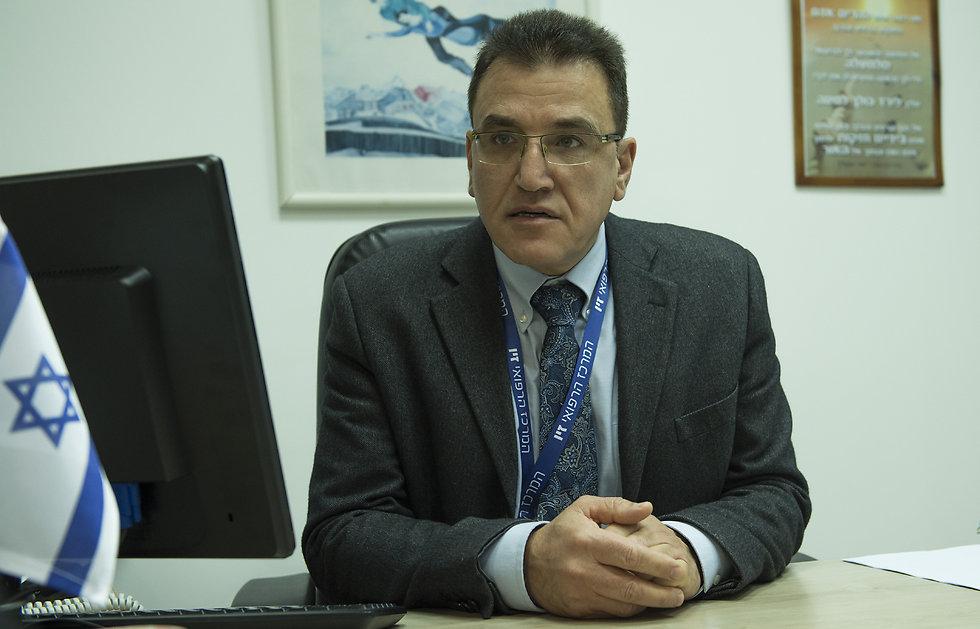 Dr. Salman Zarka (Photo: Efi Shrir)