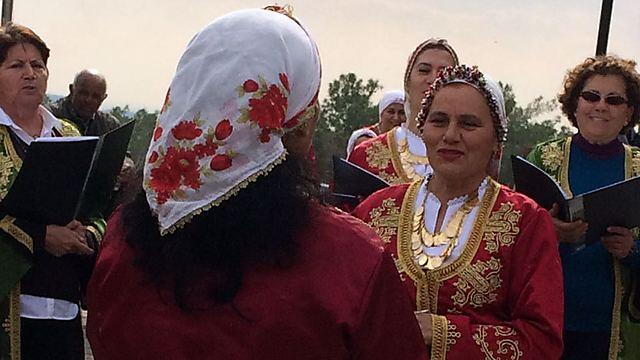 """השבוע בקפריסין: בבתי הכנסת כבר קראו בפרשת """"בשלח"""", פרשת השבוע שלנו, ומרים הנביאה רקדה לי מול העיניים (צילום: רוחמה וייס) (צילום: רוחמה וייס)"""