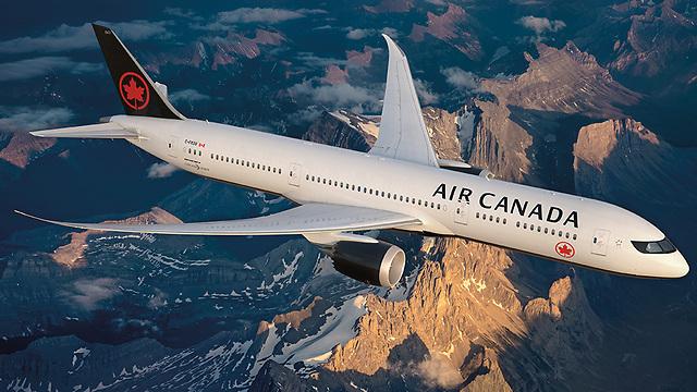 העיצוב החדש של מטוס הדרימליינר, אייר קנדה (צילום: Air Canada) (צילום: Air Canada)