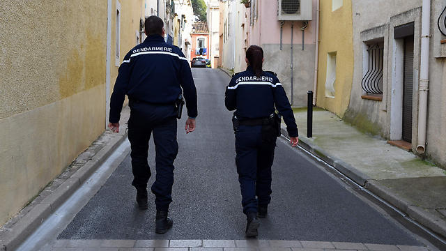 French police (Photo: AFP) (Photo: AFP)