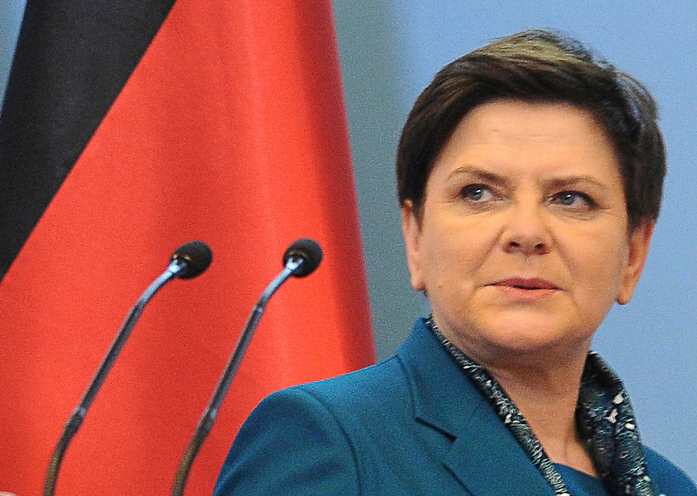 Prime Minister of Poland Beata Szydło (Photo: AP)