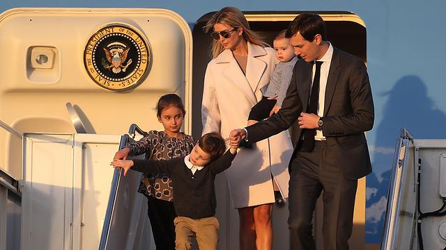 Иванка с мужем и детьми. Фото: AFP