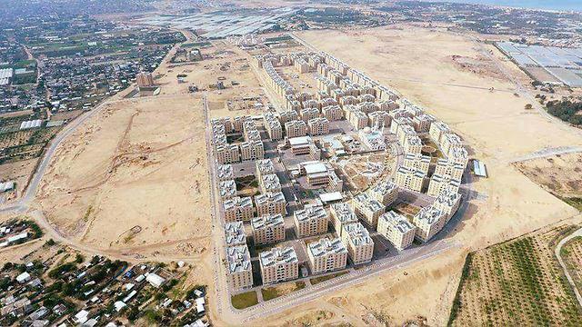 """פרויקט """"העיר חאמד"""" ברצועת עזה ()"""