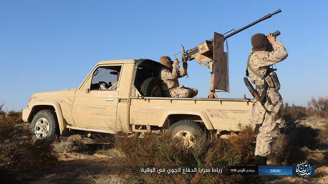 ISIS militants in Sinai (File)