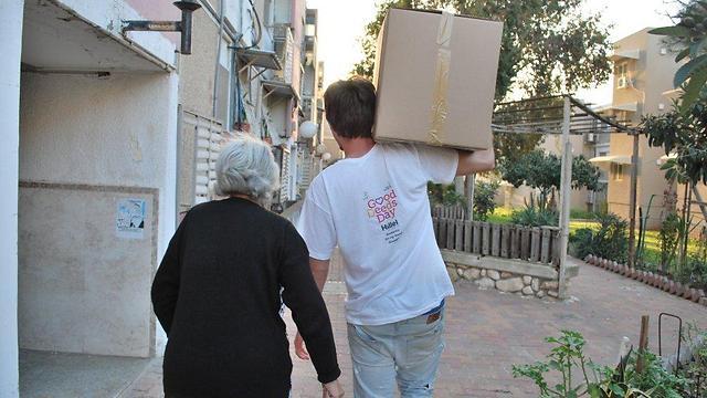 תושבי ירושלים והסביבה מבצעים יותר מעשים טובים באופן קבוע מאשר התל-אביבים