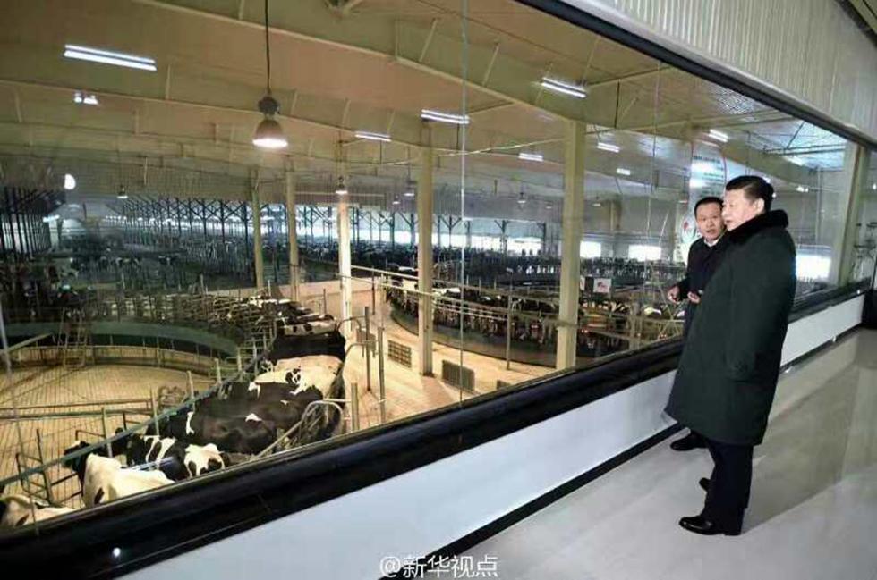 נשיא סין בודק טכנולוגיות בישראל ()
