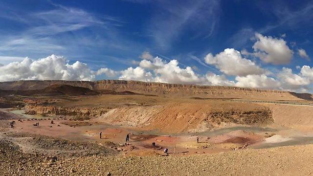 הנוף המדברי של מצפה רמון (צילום: אביהוא שאלתיאל)