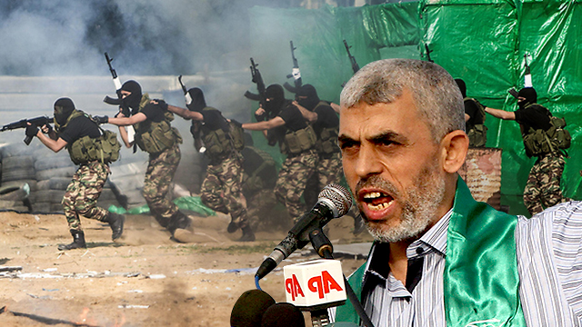 Hamas leader Yahya Sinwar (Photos: AP, EPA) (Photo: AP/EPA)