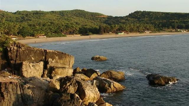 שווה את כל המאמץ: חוף קודלי בהודו (צילום: אסף קוזין)