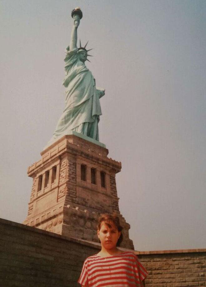 """בניו יורק. """"שנים טובות, של התנסויות חדשות"""" (צילום: מתוך אלבום פרטי)"""