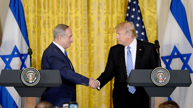 President Trump and Prime Minister Netanyahu (Photo: MCT)