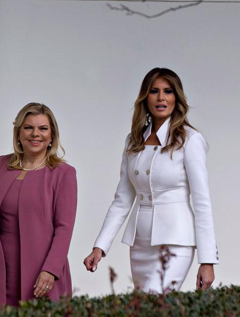 """""""היה לנו מאוד חשוב שהמראה שלה בבית הלבן יהיה קלאסי"""", אומרת סנדרה רינגלר (צילום: Gettyimages)"""