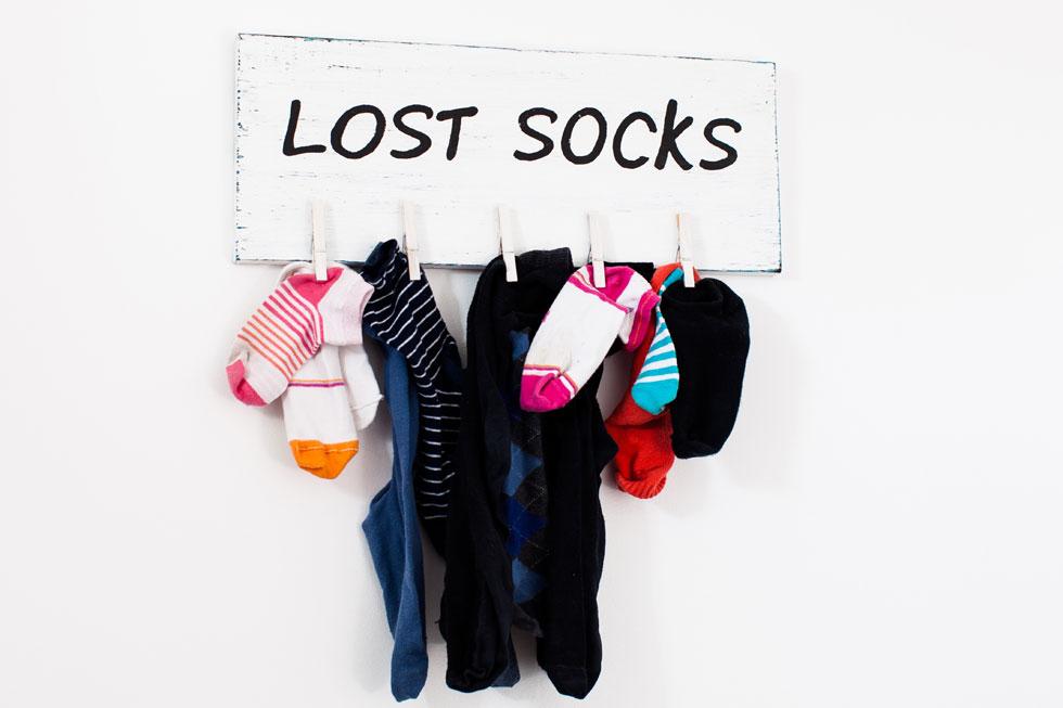 טיפ מספר 1: פתחו מדור לחיפוש גרביים אבודים (צילום: Shutterstock)