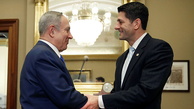 Paul Ryan and PM Netanyahu (Photo: Reuters) (Photo: Reuters)