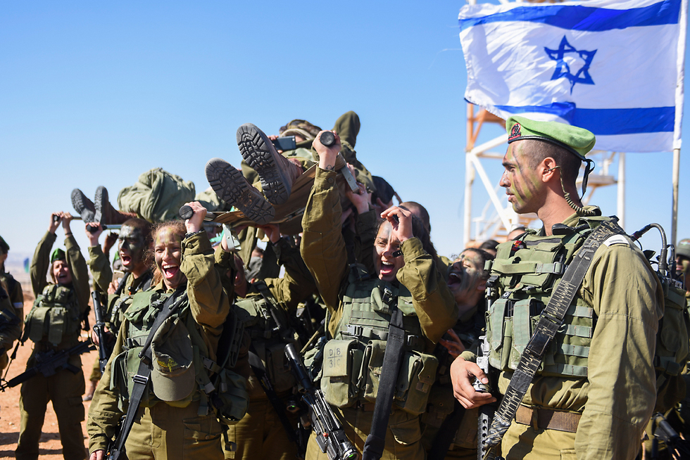 One of the IDF's co-ed battalions (Photo: IDF Spokesman's Office)
