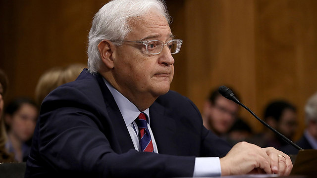 Friedman at his Senate confirmation hearing (Photo: Reuters)
