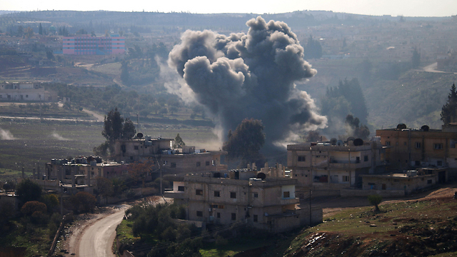 Battles in Daraa (File photo: AFP)