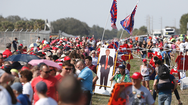 Trump supporters in Florida (Photo: AFP) (Photo: AFP)