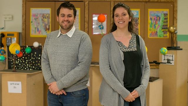 מאושרים מהשינוי. ירדנה פראוור ודניאל סולוביי (צילום: אוהד צויגנברג) (צילום: אוהד צויגנברג)