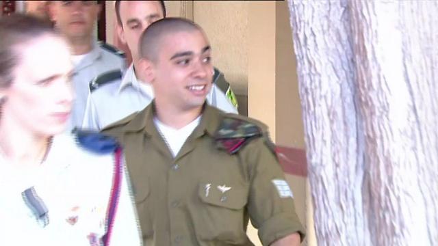 Azaria arriving for sentencing