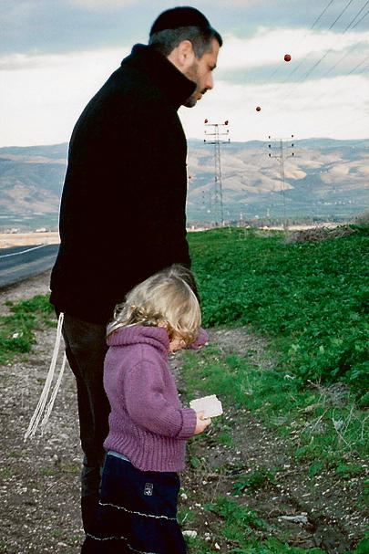 החיים בעצמם הם היצירה הכי משמעותית. עם בתו