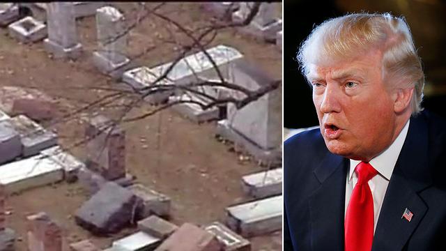 President Trump condemns anti-Semitism