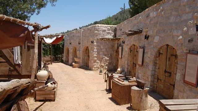 """מוזיאון """"עין יעל"""", מציג שרידים ארכיאולוגיים (צילום: אתר מוזיאון יעל) (צילום: אתר מוזיאון יעל)"""