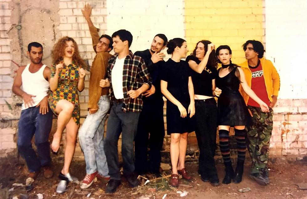 """היו לה גייז והייתה לה תל אביב. """"פלורנטין"""" (צילום: אמיר ויינברג) (צילום: אמיר ויינברג)"""