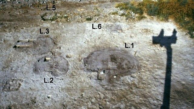 מבט על החלק המרכזי של אתר אהלו II (צילום: באדיבות פרופ' דני נדל)