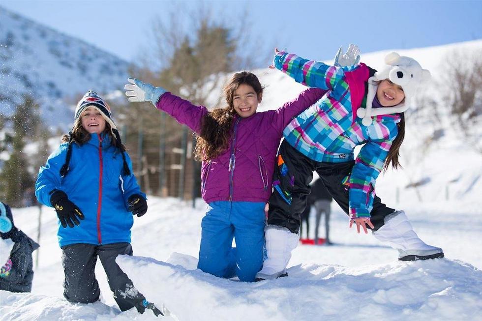 כל הדרכים מובילות לחרמון:התקופה הטובה בשנה לטיול לבן בצפון (צילום: שי קידר)