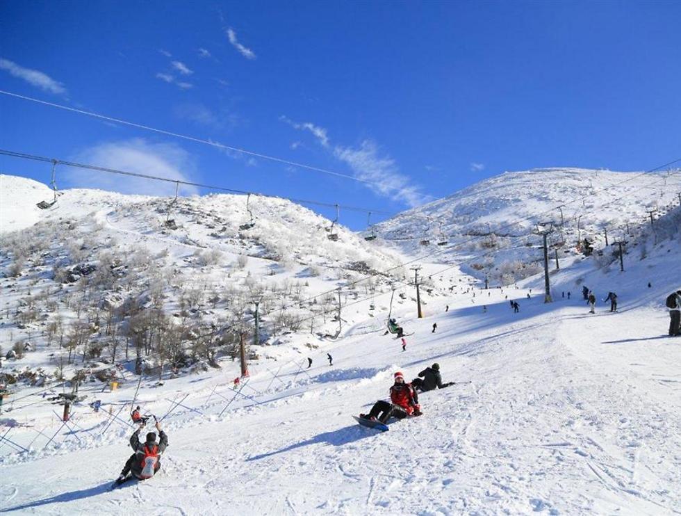 ההר הלבן לא כל ימות השנה: זה הזמן לביקור בחרמון (צילום: שי קידר)