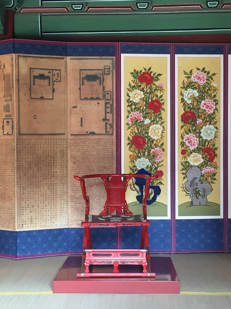 כס המלך, ארמון צ'אנדגדאוקגונג