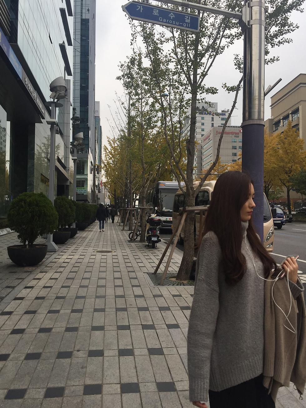 יופי קוריאני ברחוב האופנה